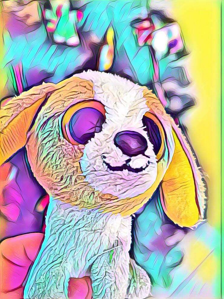 Beanie Boo Cookie Keychain Art
