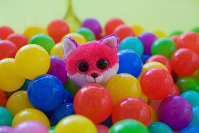 Joey in the Ball Pit