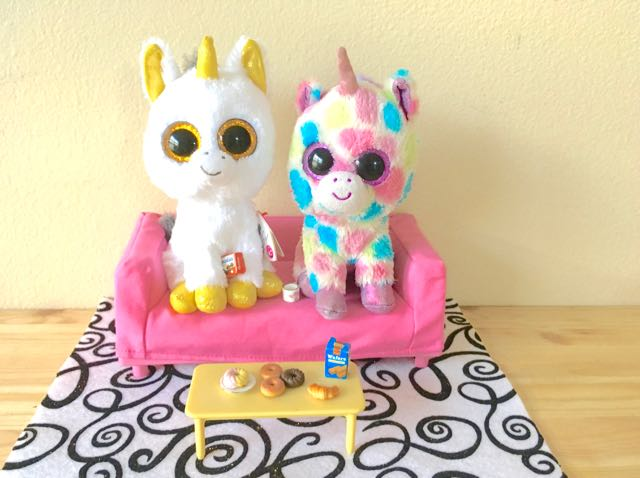 Pegasus and Wishfull Beanie Boo Unicorns