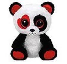 Beanie Boo Valentina the Panda