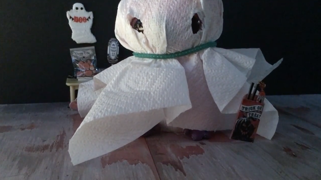 video how to make a ghost costume for your beanie boo
