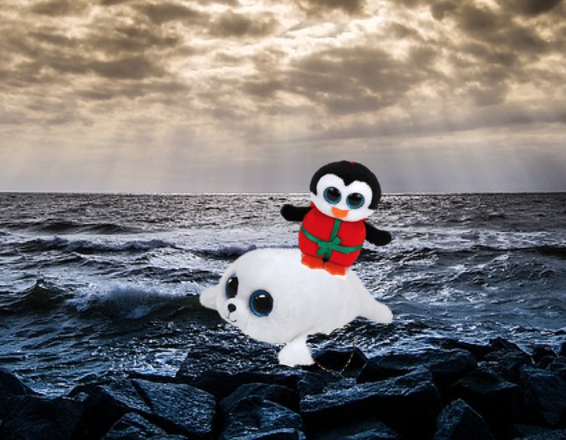 d8390452db0 Beanie Boos Chill and Icy are lost at sea. Christmas