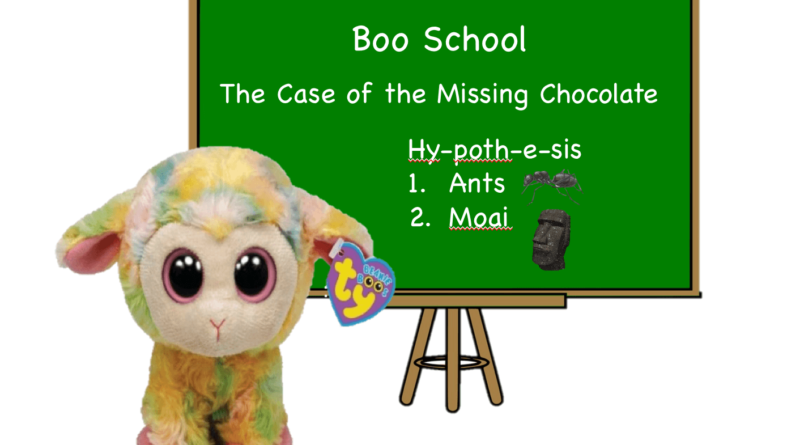 Blossom the Lamb teaches at Boo School