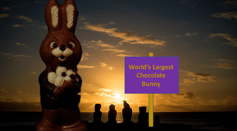World's Largest Chocolate Bunny