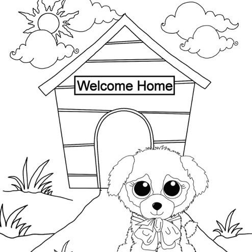 Beanie Boo Coloring Pages Awesome Beanie Boo Fan Club Come Play With Us